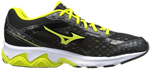 Mizuno Wave Unite 2 Synthétique Chaussure de Course Black-Yellow