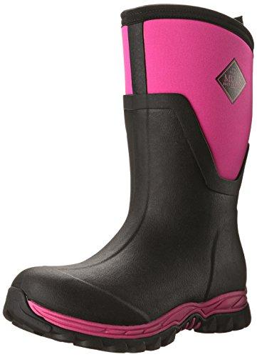 Preisvergleich Produktbild Muck Boot Arctic Sport II Mid Waterproof Insulated Rubber Boots Black Pink W6 US