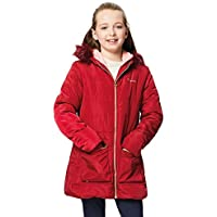 Regatta Kinder Cherryhill Insulated Fleece Lined Water Repellent Faux Fur Hooded Jacke