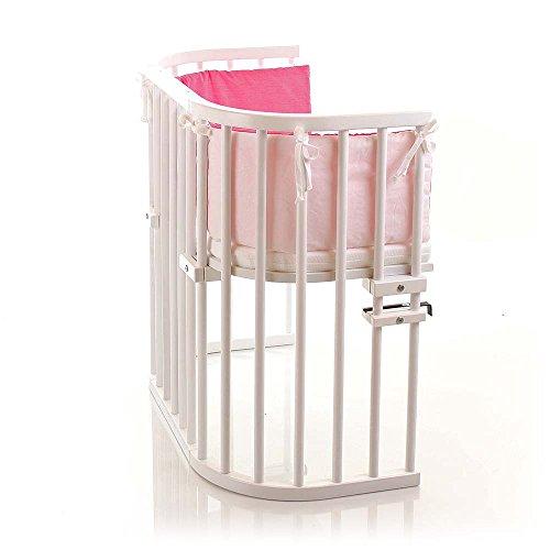 babybay original beistellbett weiß nestchen