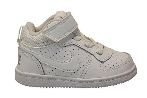 Nike Court Borough Mid (TDV), Chaussures de Gymnastique Garçon