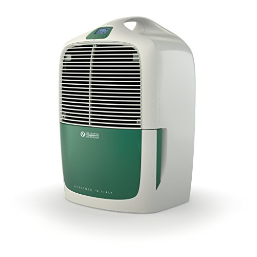 Olimpia Splendid 01446 Aquaria 16 Thermo Deumidificatore, Bianco/Verde