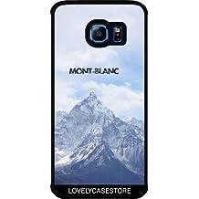 Funda para Samsung Galaxy S6 EDGE (SM-G925) - Montaña Mont Blanc Alpes Invierno Nevera Altitud Fria Chamonix