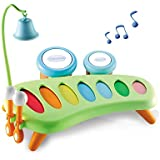 Smoby Cotoons Xylophone 31X26X25 cm, Multi Color