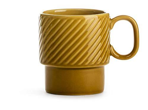 Sagaform SA5017876 Mug en céramique Jaune