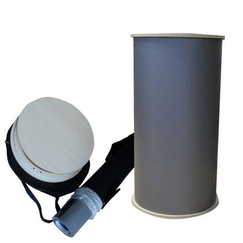 mobile Messetheke   ✓ Counter Round   ✓ Verkaufstheke   ✓ Messetisch -