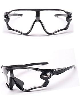 Zolimx Las Nuevas Gafas de Sol de la Lente UV400 Que Completan un Ciclo Los Vidrios de Ciclo de la Bici de Montaña...