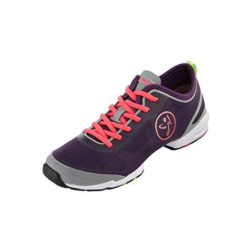 Zumba Footwear Zumba Flex II, Scarpe da Ginnastica, Donna Viola