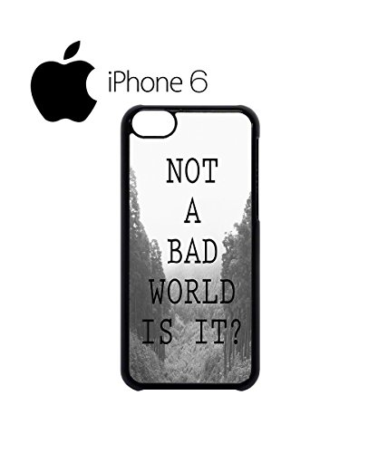 Not a Bad World is it Swag Mobile Phone Case Back Cover Hülle Weiß Schwarz for iPhone 6 Black Weiß