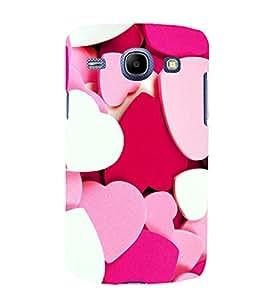 printtech Heart Couple Love Back Case Cover for Samsung Galaxy J1 / Samsung Galaxy J1 J100F