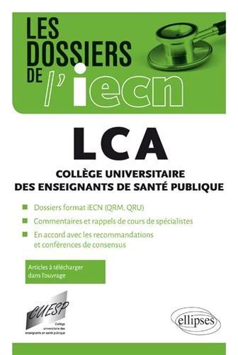 LCA : Collège universitaire des enseignants de santé publique