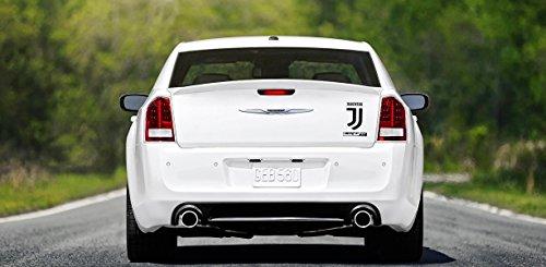 Juventus FC Auto Aufkleber Kaufen Sie eine Sekunde kostenlos Fußballverein Fußball Fenster Laptop LKW Aufkleber Styling Entfernbar Wasserdicht Aufkleber Auto Dekoration