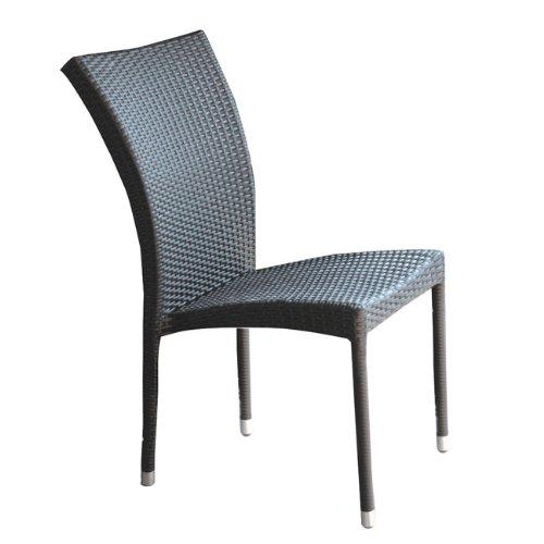 Papillon – Chaise de Jardin Rattan Sciacca s/Bras MARR