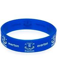 Everton FC Silikon wristband- Silikon wristband- one size fits all ca. 7 cm im Durchmesser: eine Kopfzeile card- Offizielles Fußball-Merchandising-Produkt