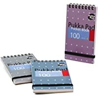 Pukka Pad Pocket Book A7 Metallic Ref 6254-MET (Pack 6)