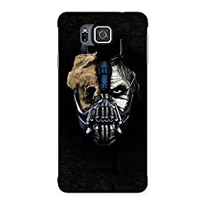 Special Mutation Multicolor Back Case Cover for Galaxy Alpha