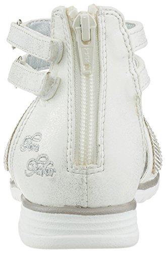 Tom Tailor 2773003, Bride cheville fille Weiß (white)