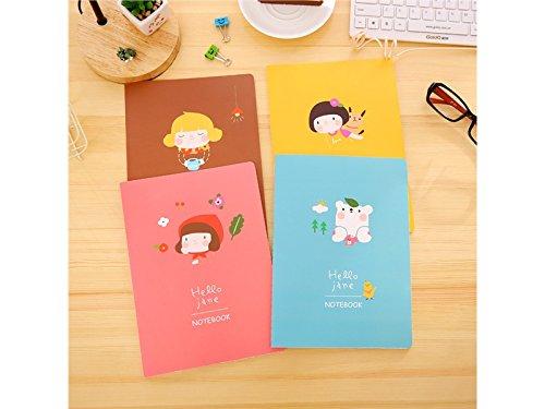 Lustig Persönliches Tagebuch Notiz Schulhefte und Zeitschriften Papierbücher (Zufallsmuster) für dein tägliches von QHDZ