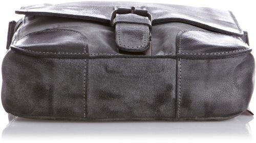 Jost Montana Sac bandoulière S cuir 23 cm Noir (Black)