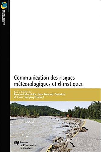 Communication des risques météorologiques et climatiques par Collectif