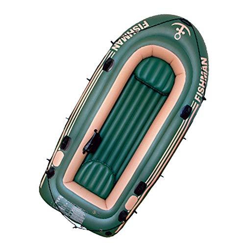 LJF Canoa da Viaggio Veloce Barca da Pesca Gonfiabile Resistente all'Usura in Kayak