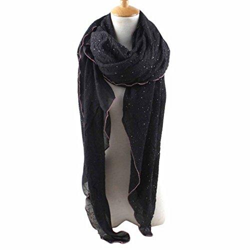 feoya-classique-foulard-echarpe-leger-uni-dessin-ornemental-neige-mariage-soiree-en-coton-polyester-