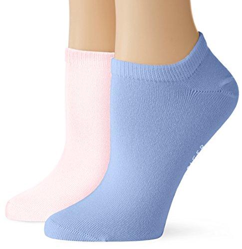 Tommy Hilfiger Damen Socken TH Women Sneaker 2P, 2er Pack, Mehrfarbig (Lilac Hint 027), 35/38