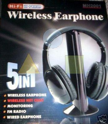 Cuffie Wireless 5 In 1 - Incubatore Impresa d01926ef9c9d