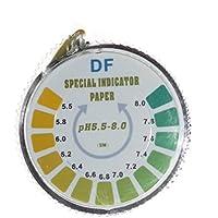 Rollo Simplex Health para medición de pH en saliva, agua u orina (5metros, con rango de medida de 5,5-8)