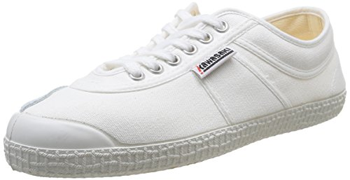 Kawasaki - Rainbow basic, Sneakers unisex, color Bianco (White/01), talla 39