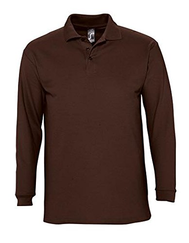 Longsleeve Polo Winter II Chocolate