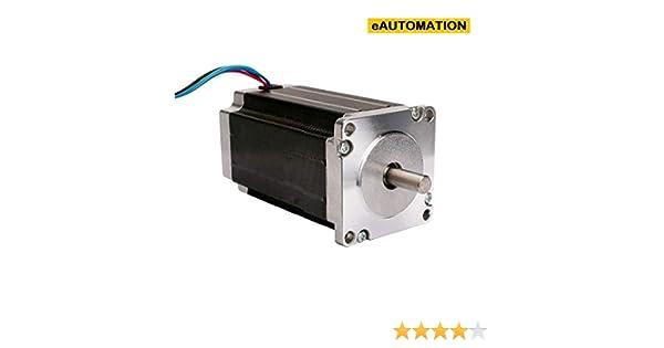 eAUTOMATION Stepper Motor 30kg/cm Nema 23 4 wire 1 8 deg/step bipolar  hybrid motor