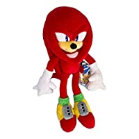 """Sonic The Hedgehog Knuckles The Echidna HQ Stuffed Plush Toy Anime Gift for Kids 17"""""""