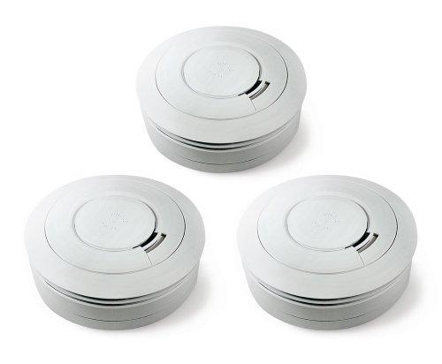 Ei Electronics Ei650 10-Jahres-Rauchwarnmelder, 3 Stück