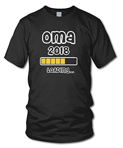 shirtloge - OMA 2018 LOADING... - KULT - Fun T-Shirt - in verschiedenen Farben - Größe S - XXL Schwarz
