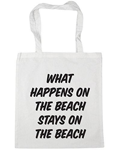 Hippowarehouse, Borsa Da Spiaggia Da Donna Bianca