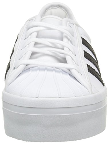 adidas Superstar Rize, Baskets Basses Femme Blanc (Ftwr White/Core Black/Ftwr White)
