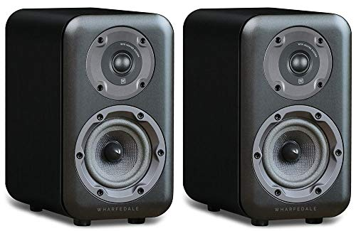 Wharfedale D320 Bookshelf Speakers Black