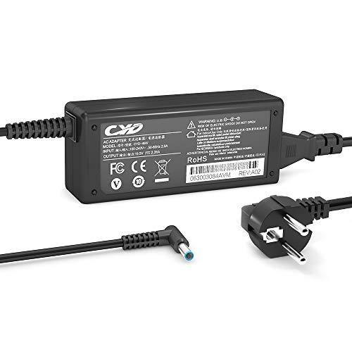 QYD 45W-ladegerät-Notebook-Netzteil für HP Split 13 x2 13-g100 13-g200 13-g110dx 13-g118ca 13-m100 13-m110ca 13t-g100 13t-m000 13t-m1000 15-bs020wm 1.2m Laptop-ladekabel-Power-AC-Adapter-Kable -