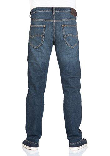 Lee Herren Straight Jeans Daren Blau