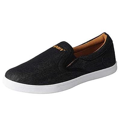 Sparx Men's Black Loafers SM_402-40