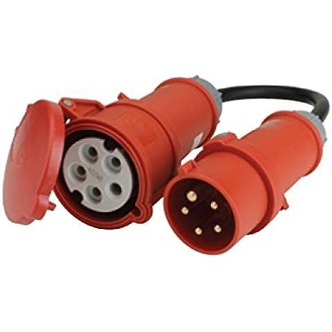 Unitec 47460 - Adattatore 16/32A, cavo 0,5m, H07RN-F5G2,5mm