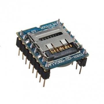 Bheema WTV020 - SD - 16P U -Disk- Audio -Player SD-Karte MP3 Sprachmodul (Arduino-sd-karte Mp3-player)
