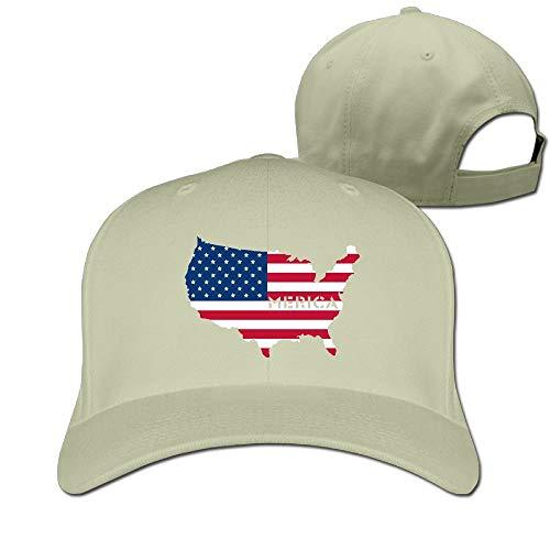 Rghkjlp 4. Juli Merica Flag Unisex Vintage Baseball Caps Washed einstellbare Papa Hüte Multicolor84 (4. Juli Baseball-hüte)