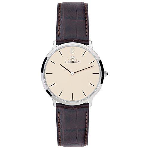 Michel Herbelin Ladies 'Watch Brown/Silver/Champagne 17415/17MA
