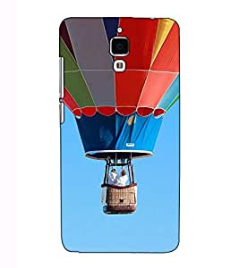 Fuson Designer Back Case Cover for Xiaomi Redmi Mi 4 :: Redmi Mi 4 (The Flying baloon theme)