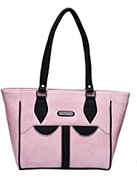 Fristo Pink And Black Women Handbag(FRB-148)Pink And Black