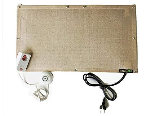 Infrarot Schreibtischheizung Untertischheizung inkl. Fußschalter für Arbeitsplatz & Privatbereich Gewicht nur 850gr / 180Watt