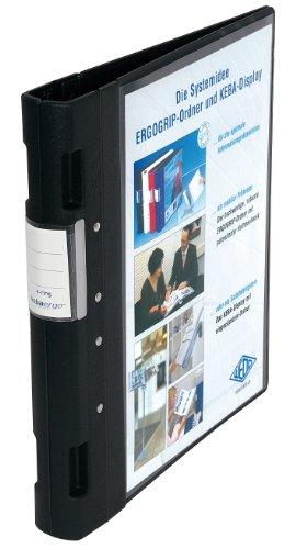 Wedo 05815001 - Archivador plástico cierre ergonómico