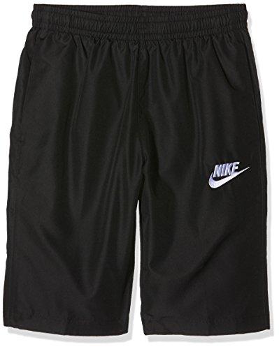 Nike M Nsw Wvn Season, Pantaloncino da Allenamento Uomo, Multicolore (Nero/Nero/Bianco), L